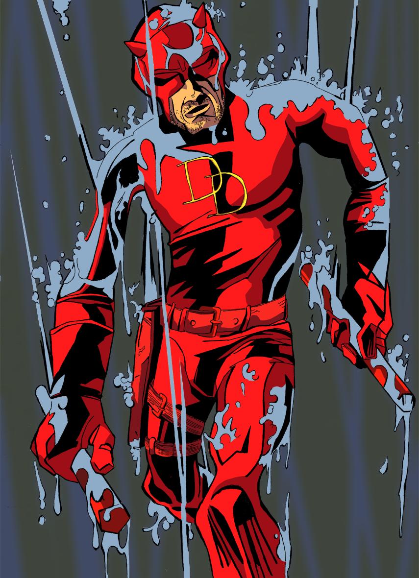 Daredevil under the weather