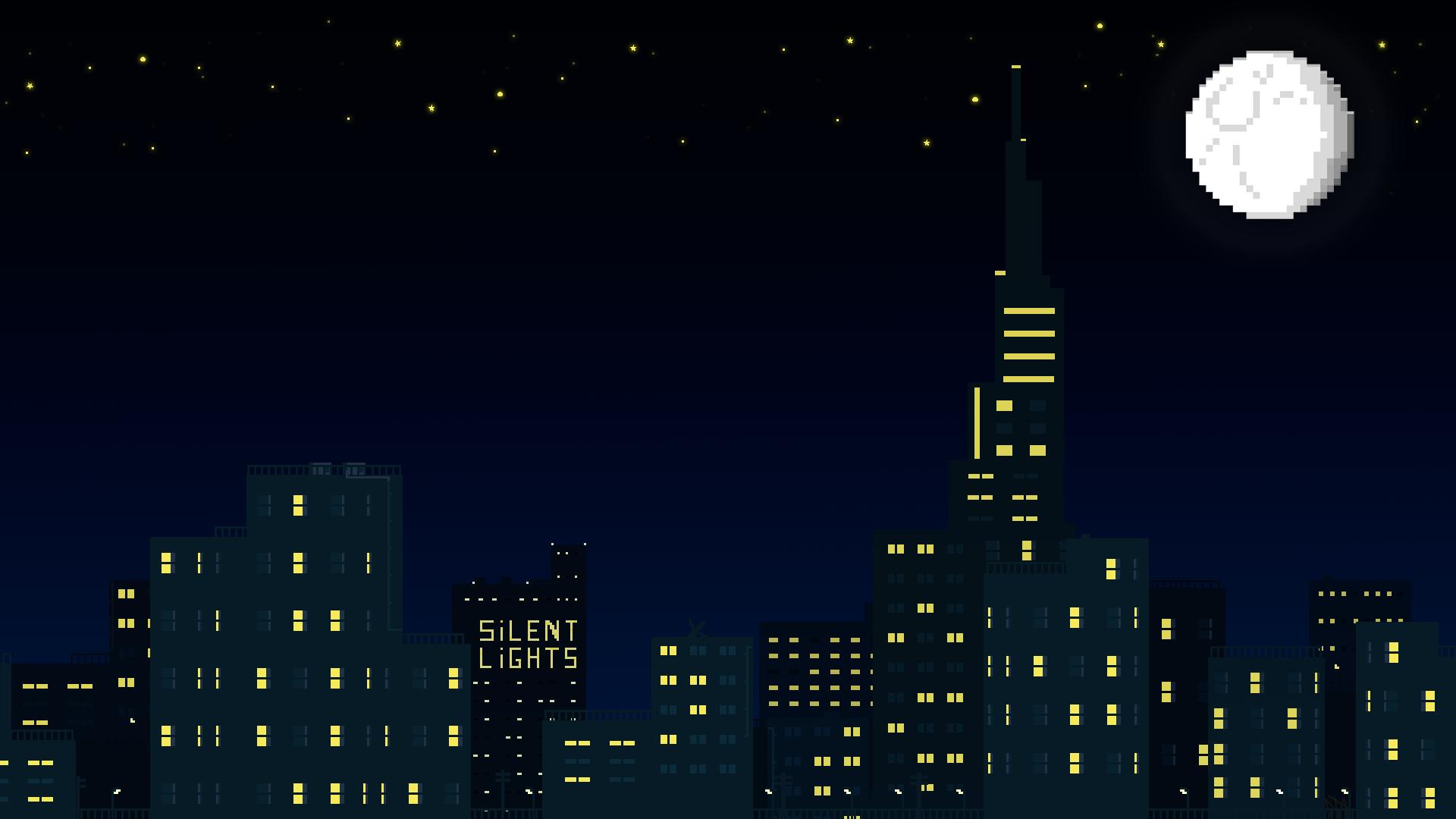 City Pixel Art