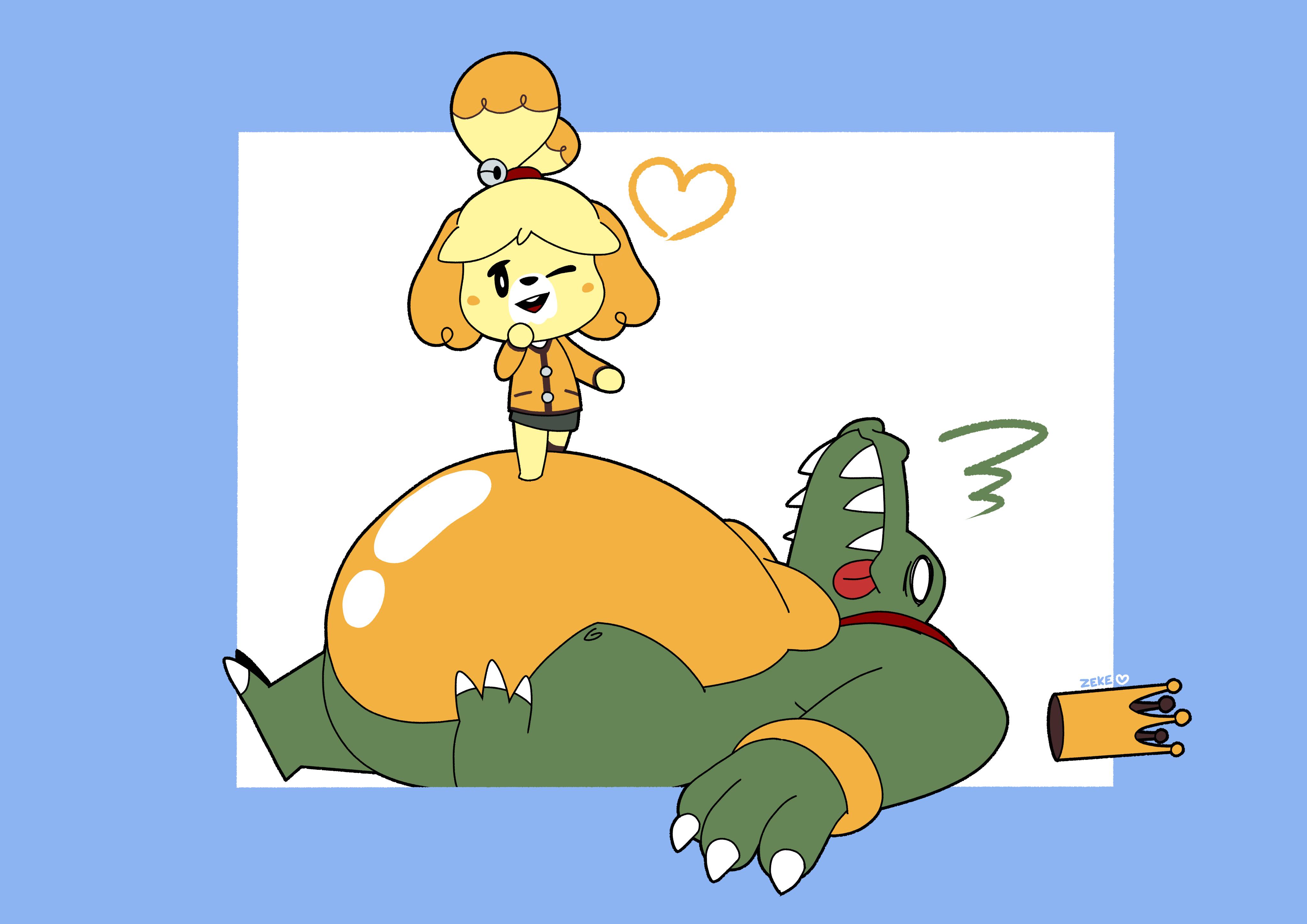 Isabelle In Smash!