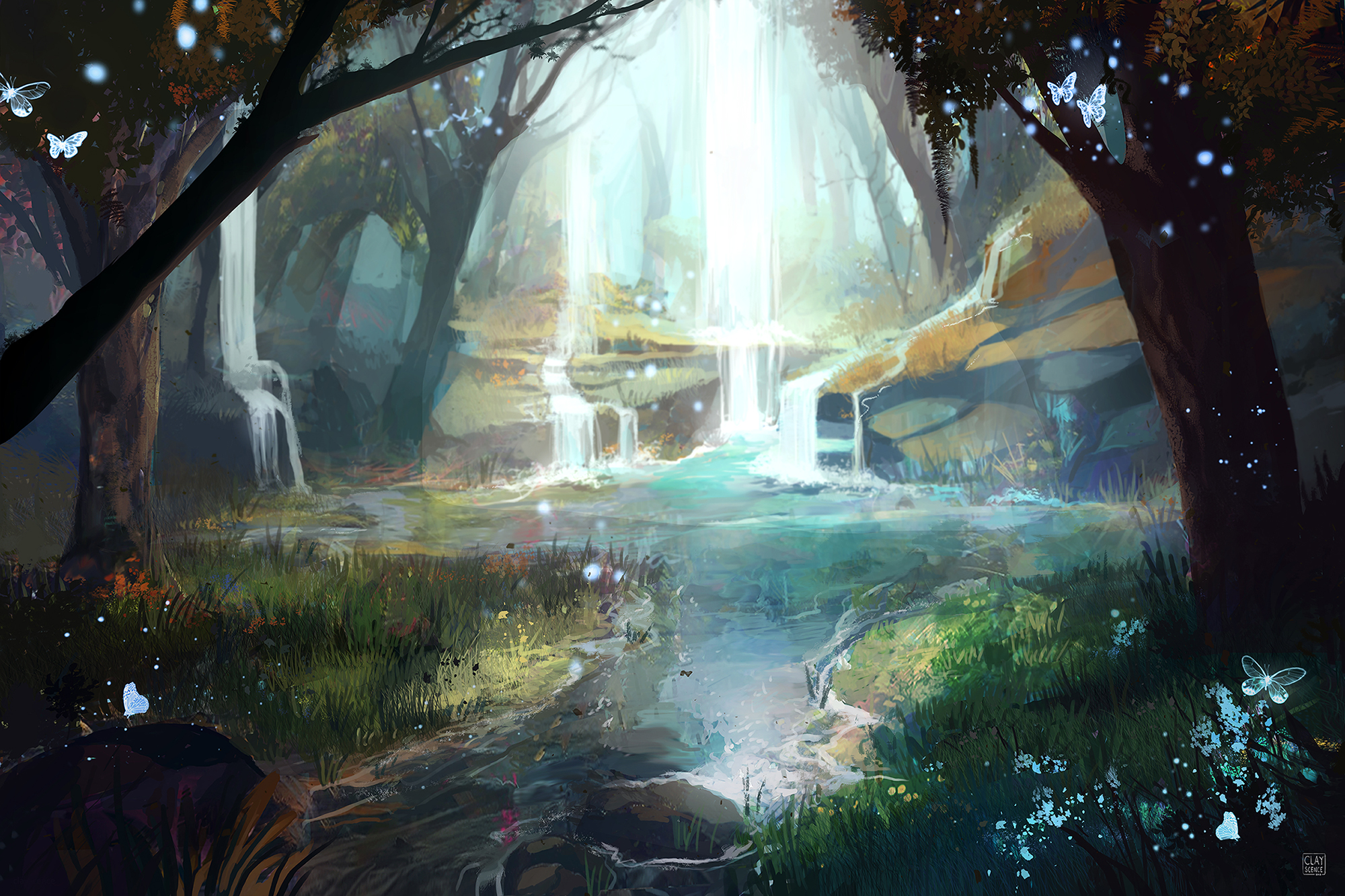 Fantasy Forest By Clayscence On Newgrounds