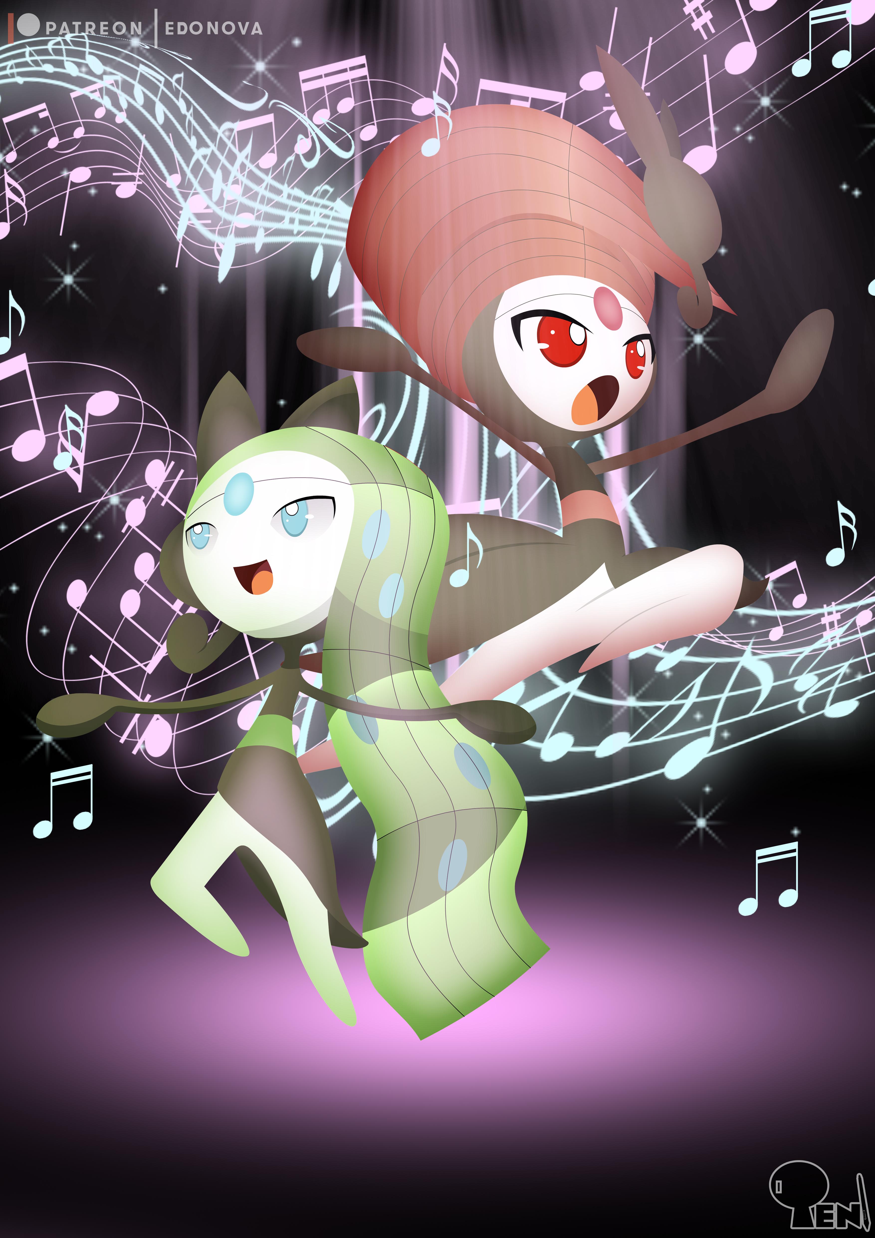 Meloetta - the Dance Muse