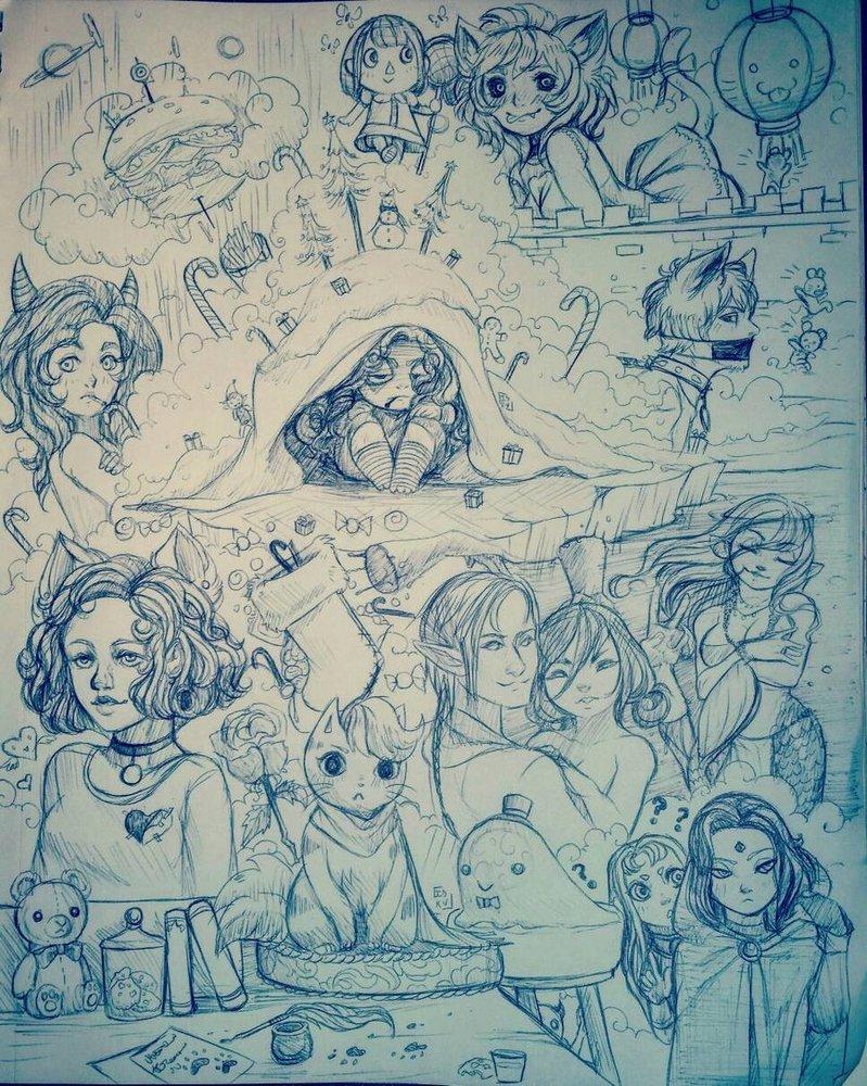 Bunch O Doodles