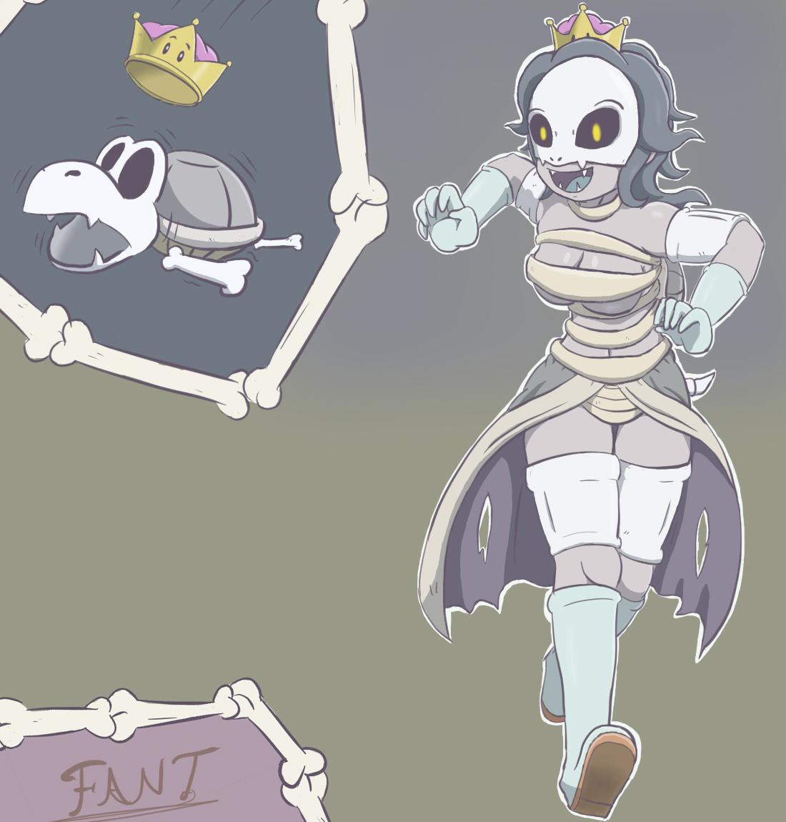 Dry Bonesett or Peachdry Bones, whathever