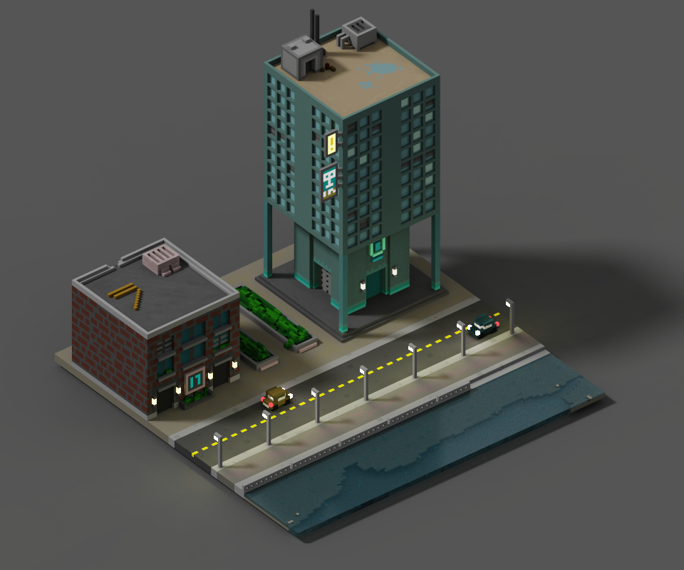 Voxel Seaside