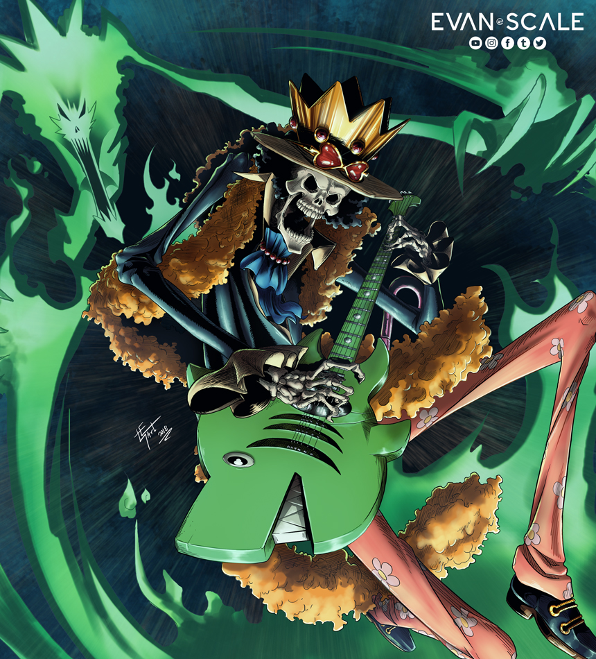 Soul King Brook (ONE PIECE)