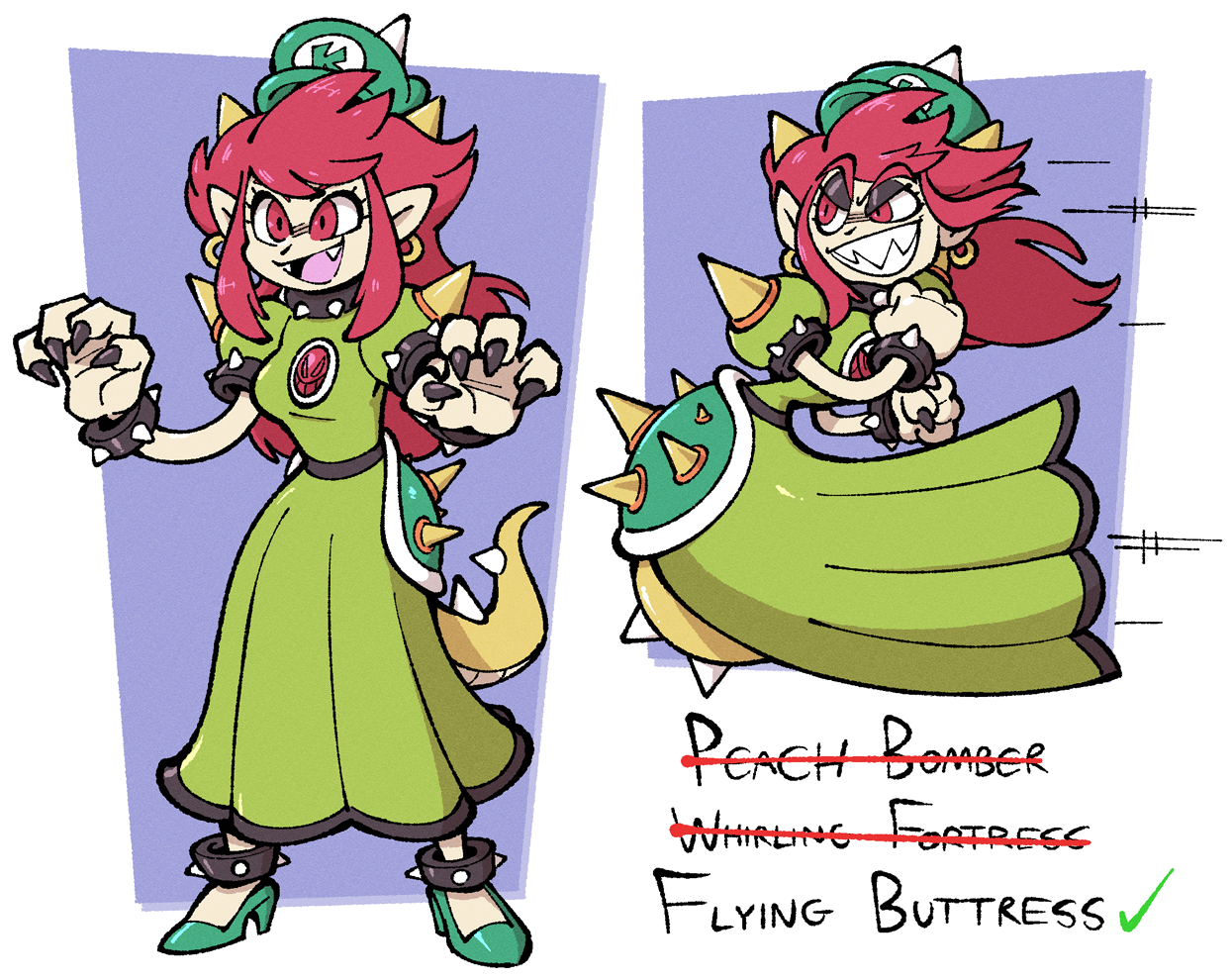 Yuga's Gallery of Nintendo Art (currently featuring: the Paper Mario series) - Page 2 646295_shenaniganza_official-bowsette
