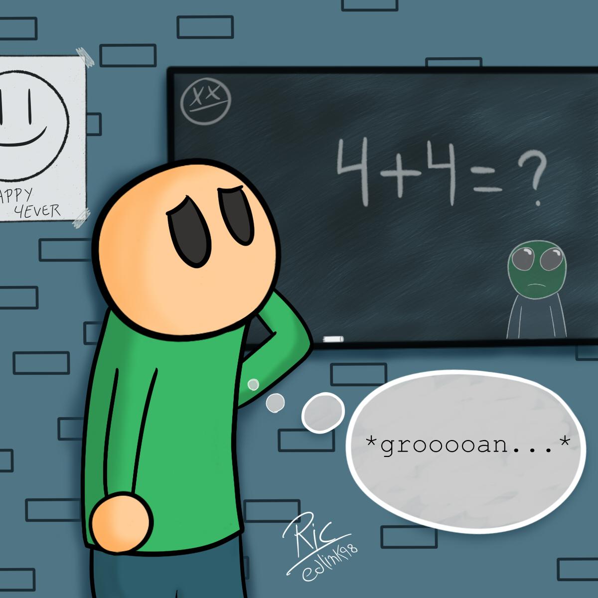 """FanArt """"Riddle School"""""""