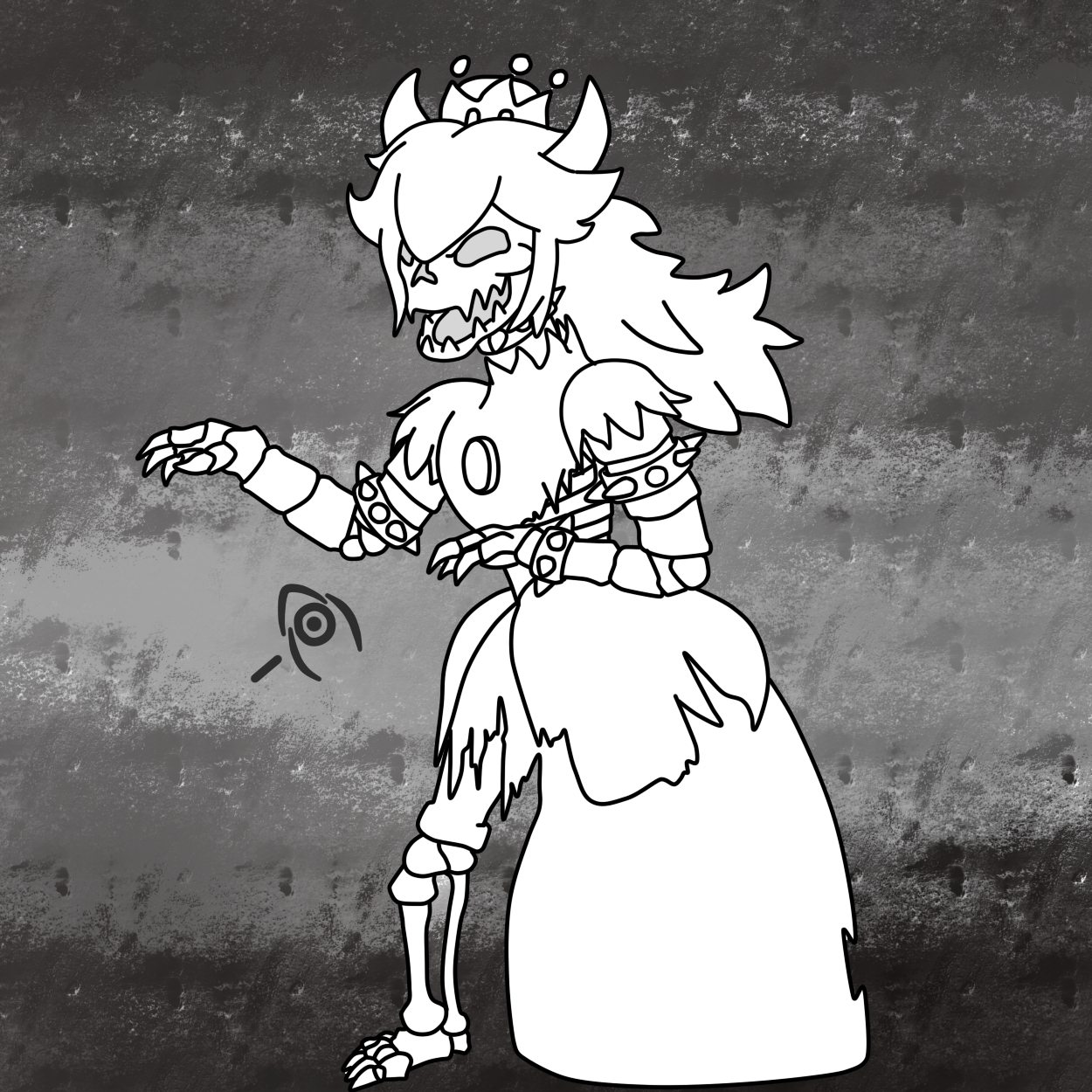 Dry bowsette