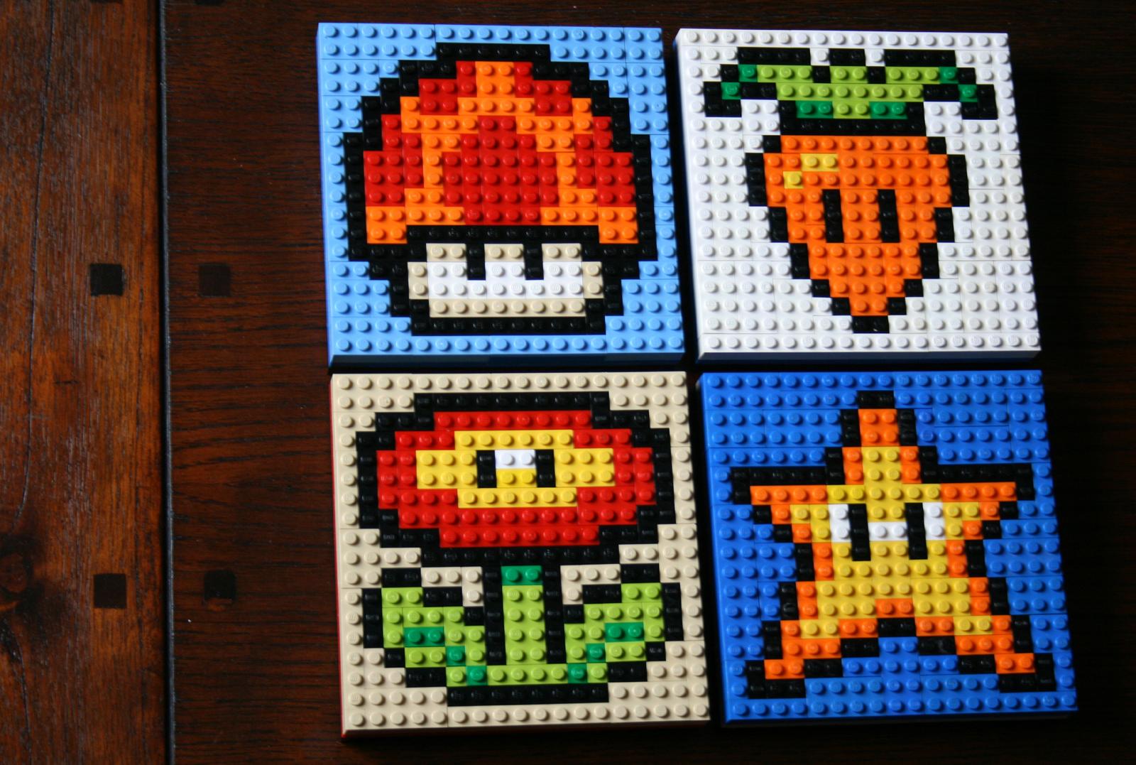 Lego Mario Power Ups