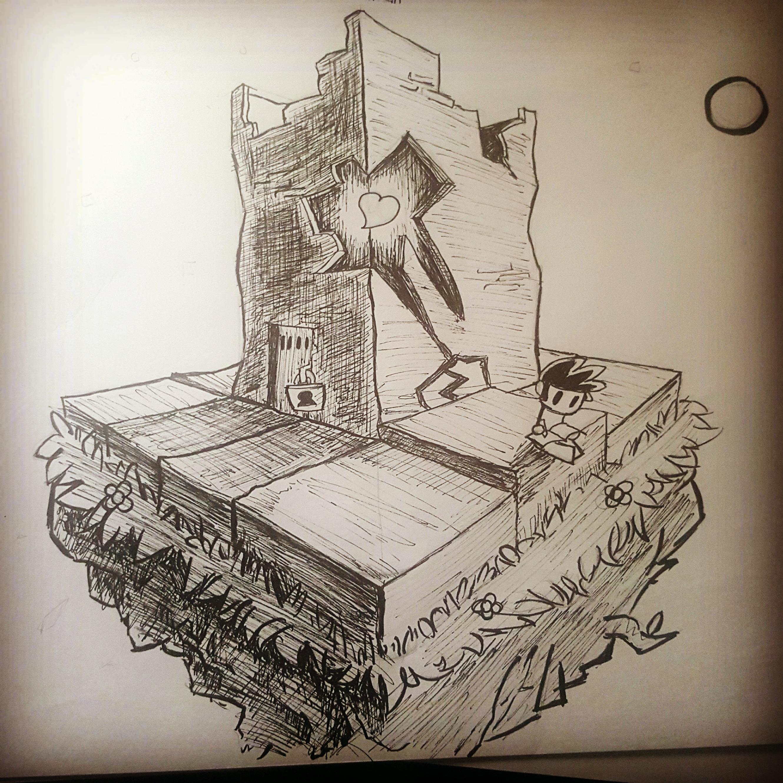 Inktober #2: Creative Space