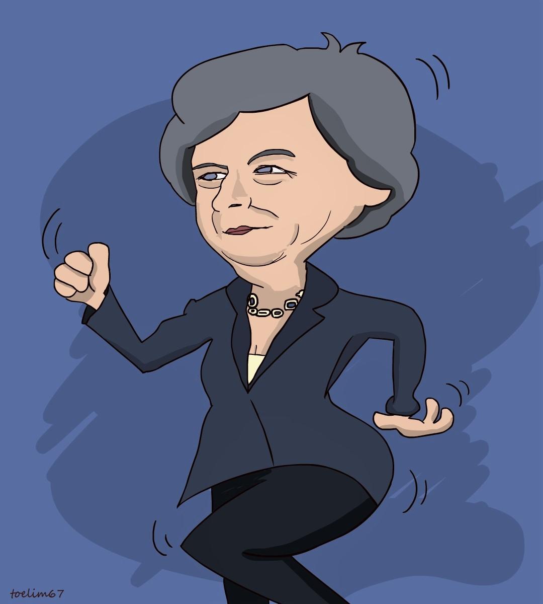 Dancing Queen Theresa May