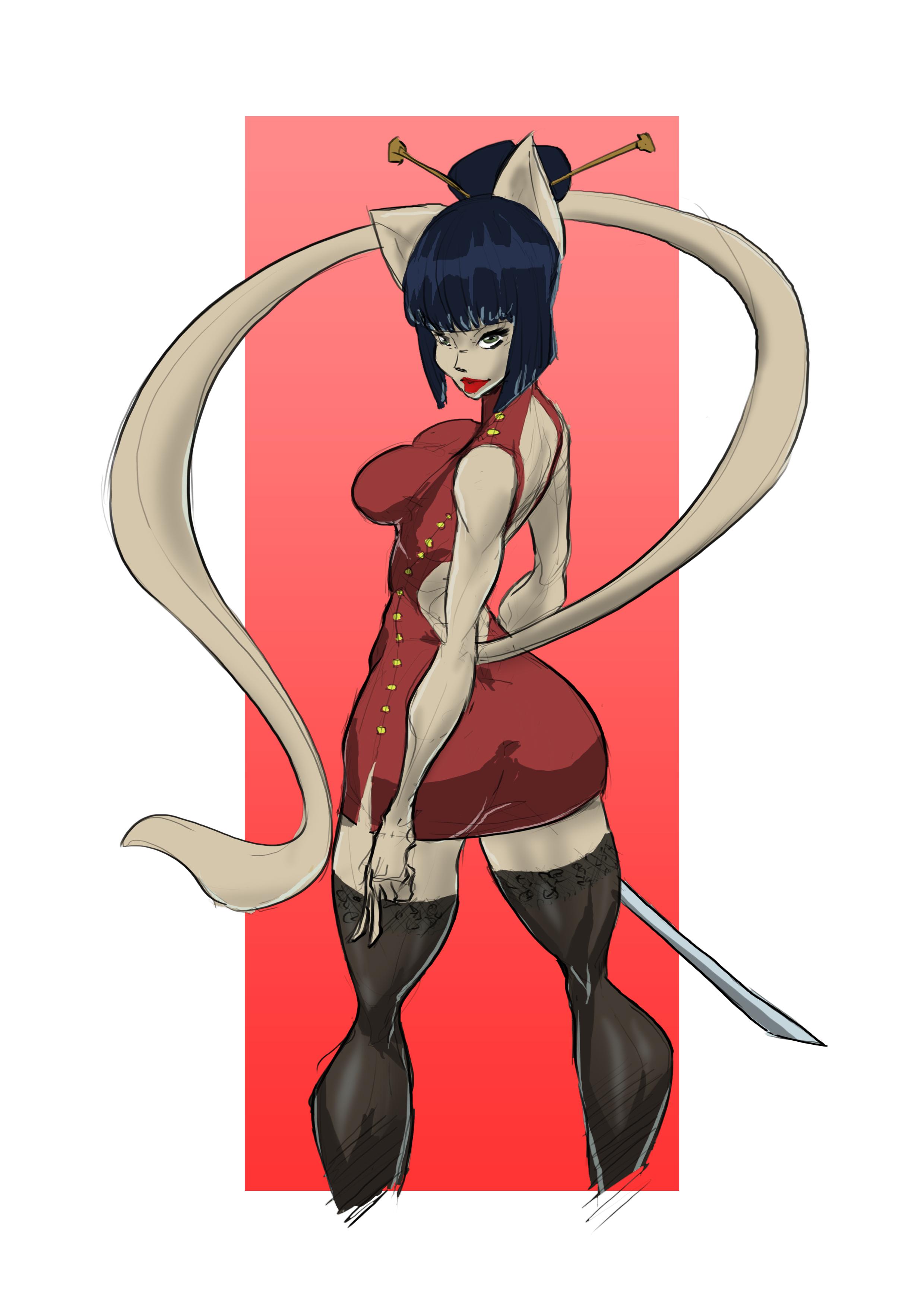 Assassin Cat Lady