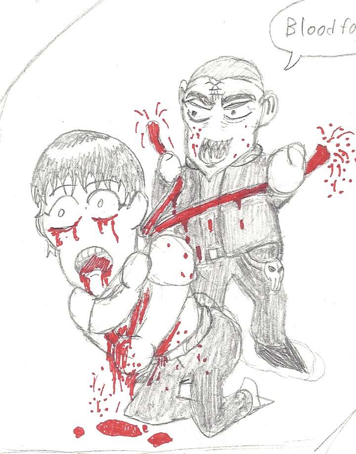 Bloody Cartoon