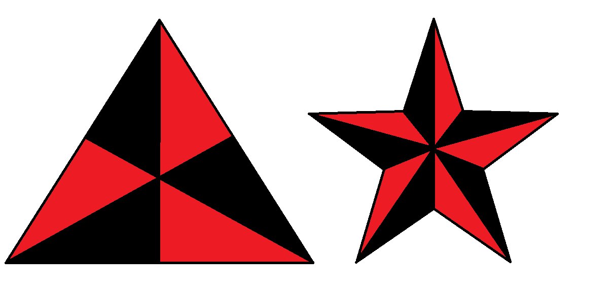triastar black and red