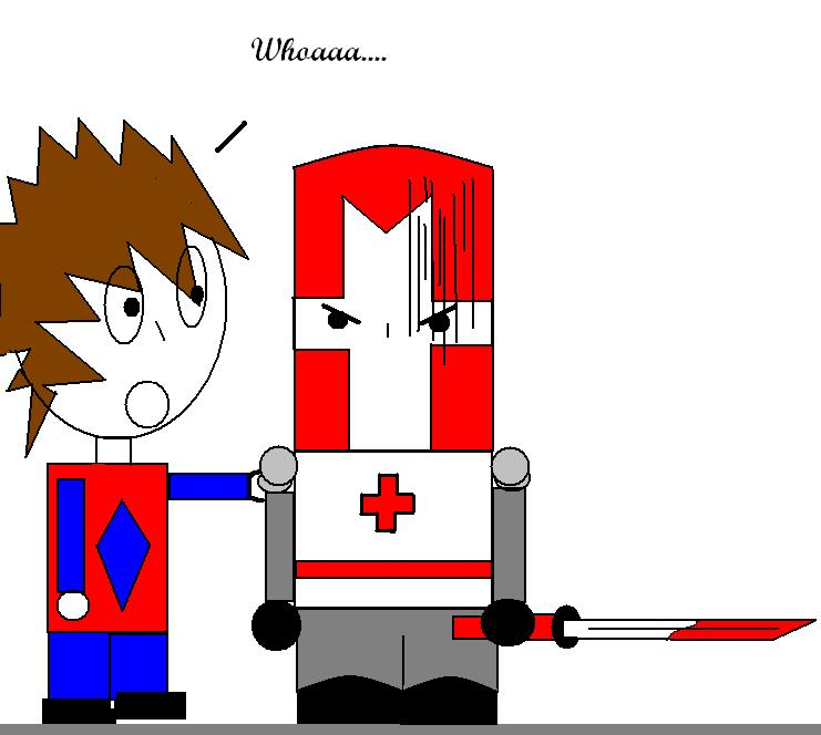 Castle Crasher with PAINT xD