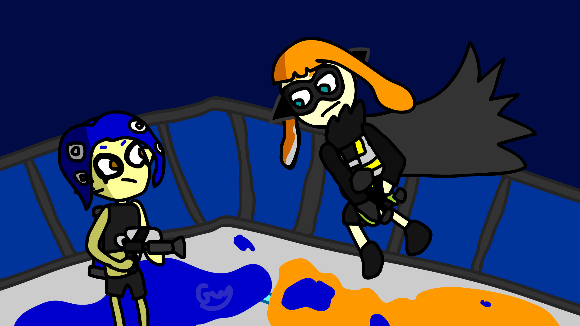 Splatoon 2 Octo Expansion Spoilers By Redreapee On Newgrounds