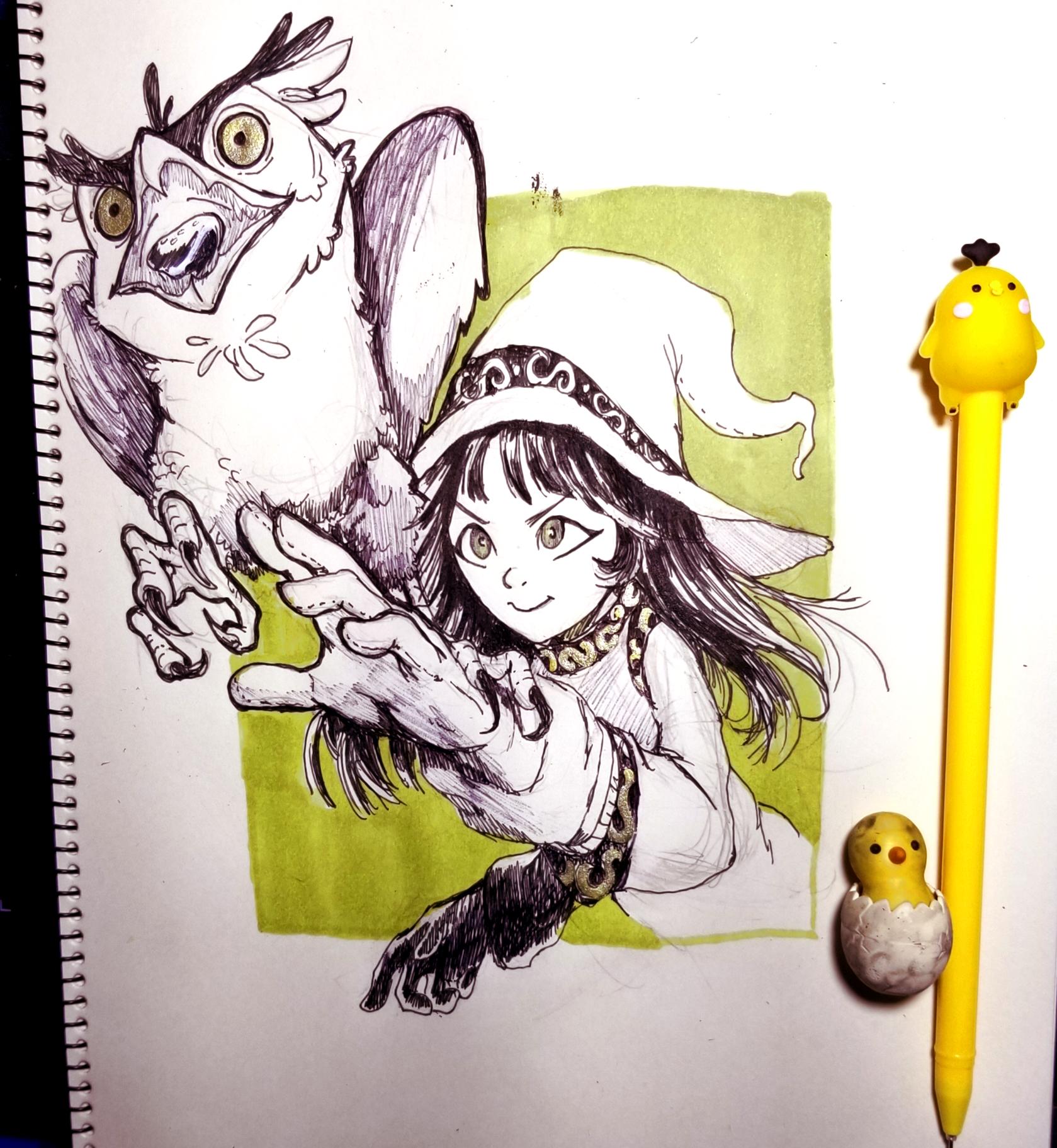Bird Witch