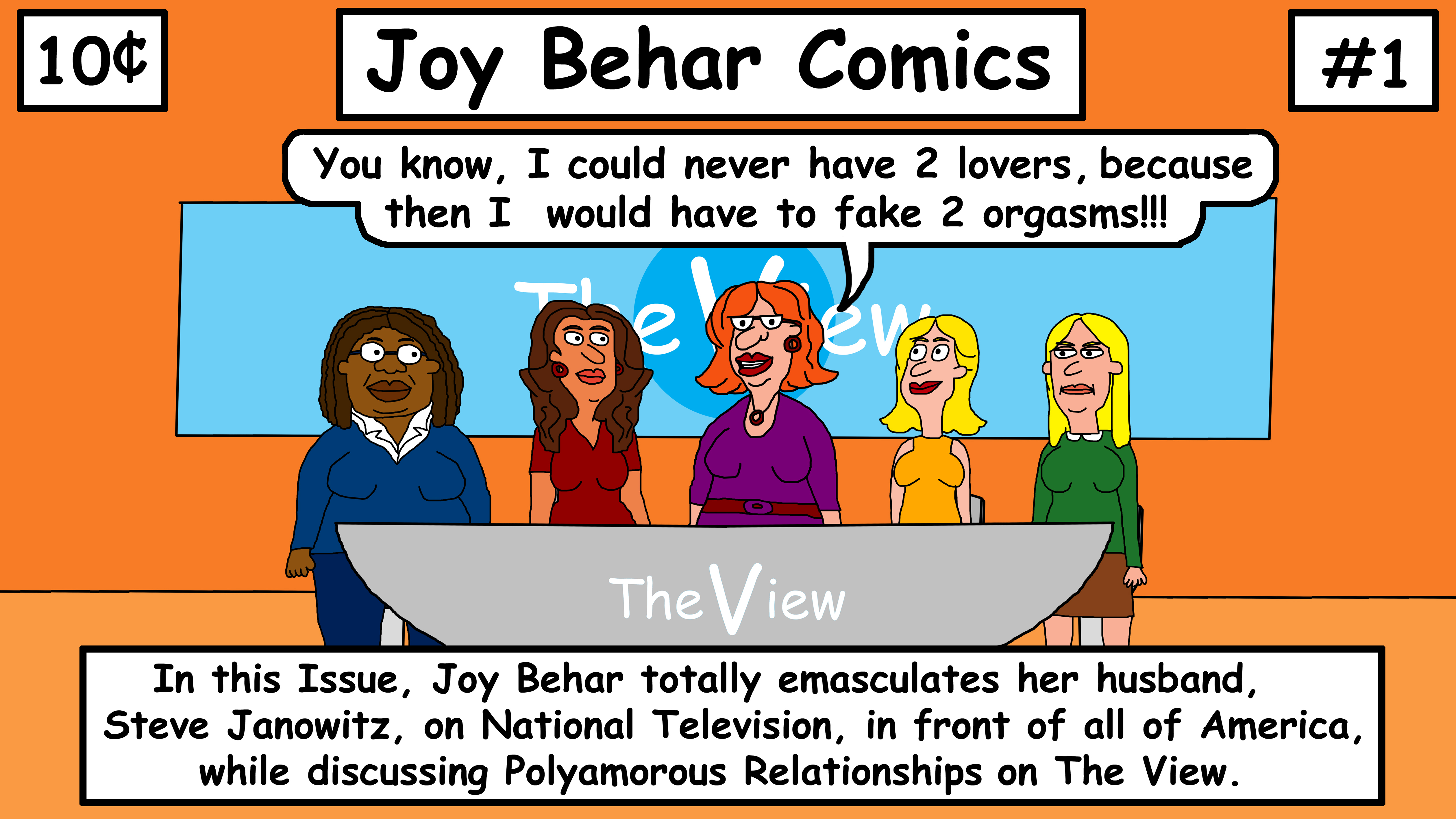 Joy Behard Comics #1