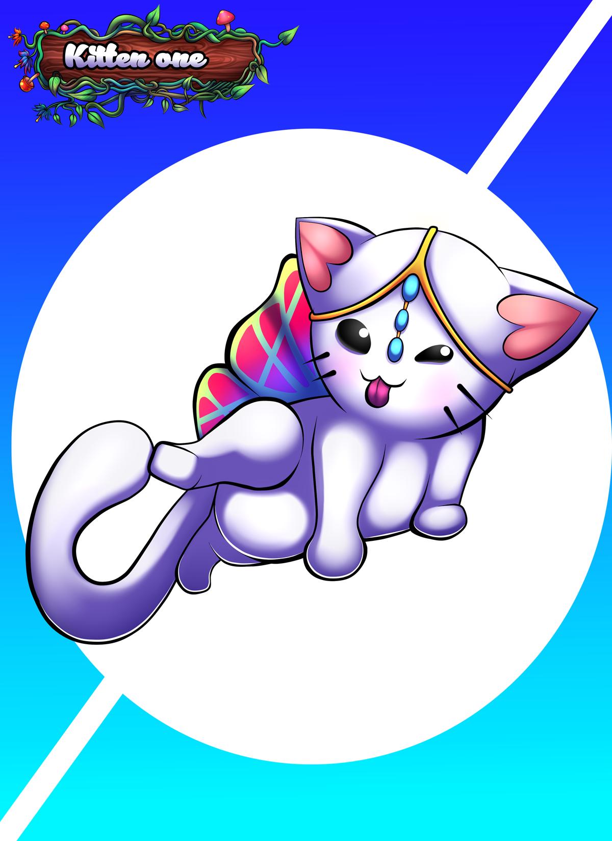 Kitten 1 Art asset