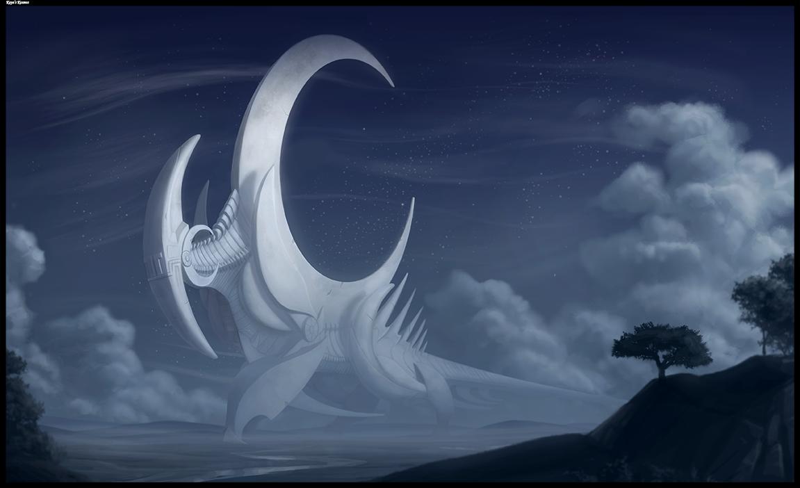 Moonstalker Re-Draw.