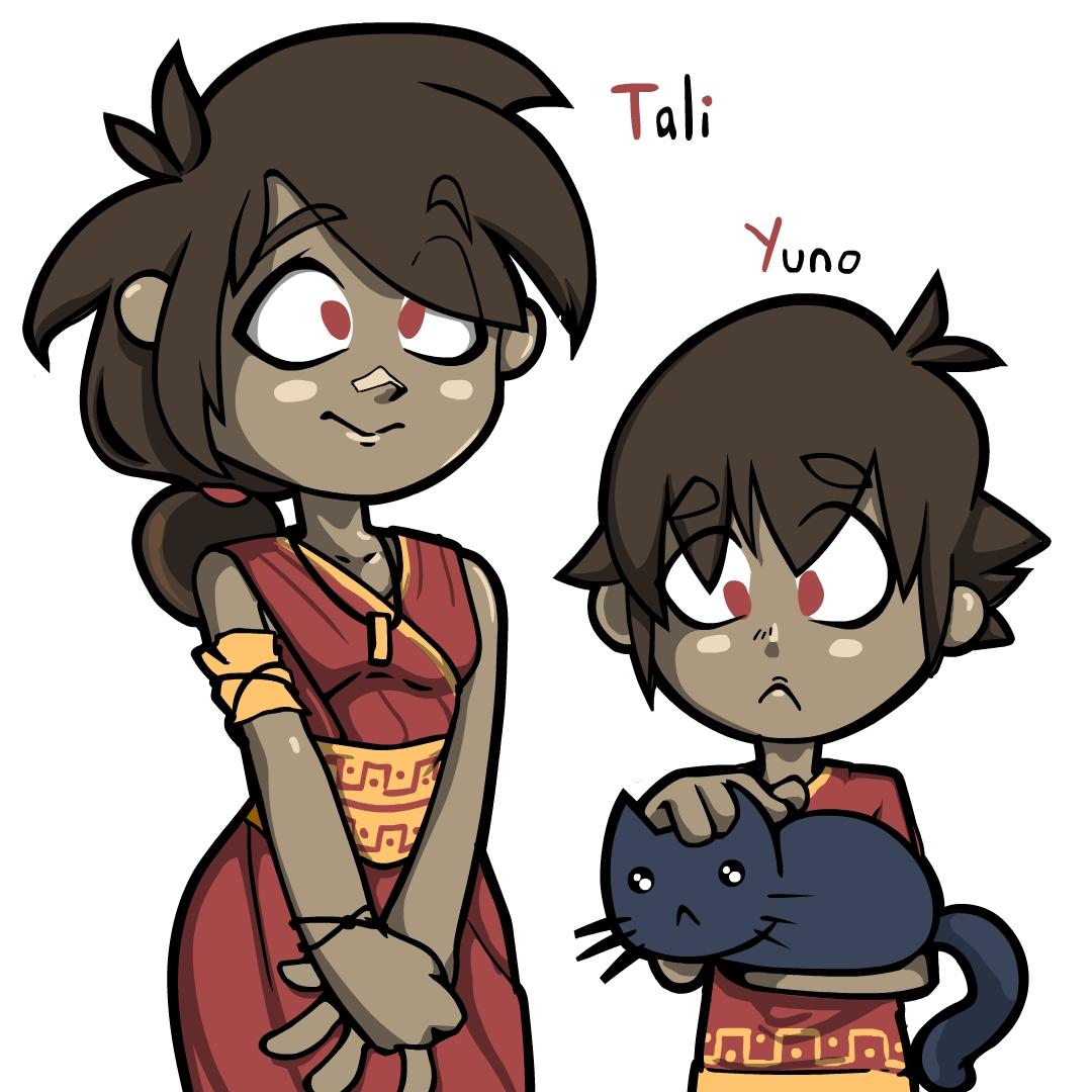 Tali and Yuno
