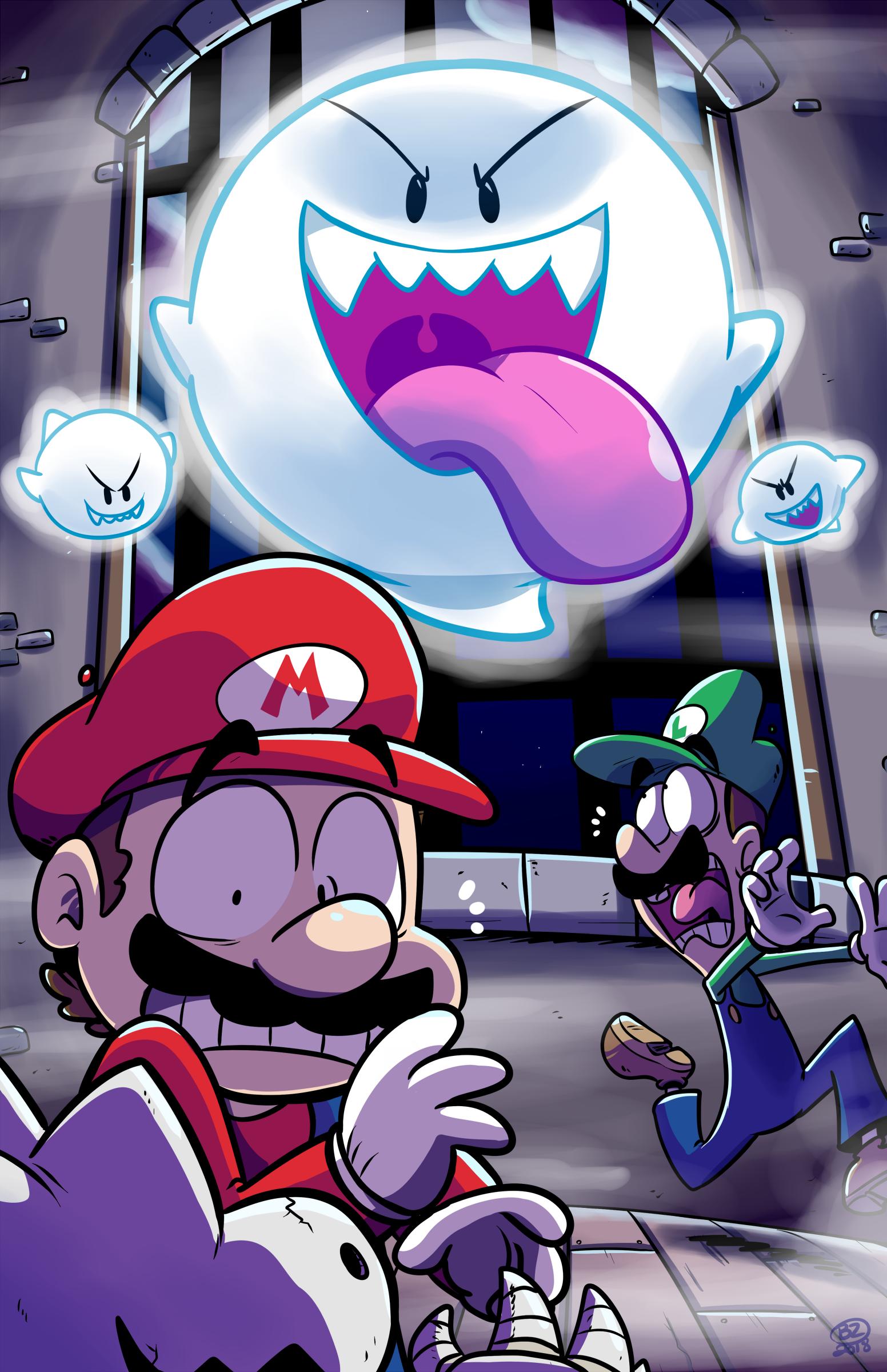 Mario and Luigi's Haunted Night