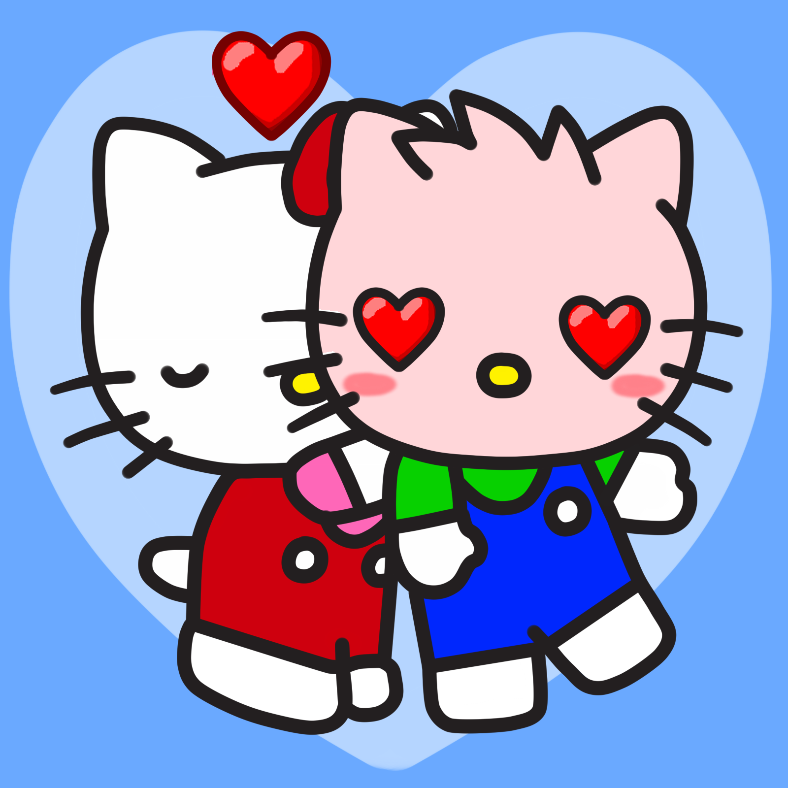 Kitty Kiss Kitter