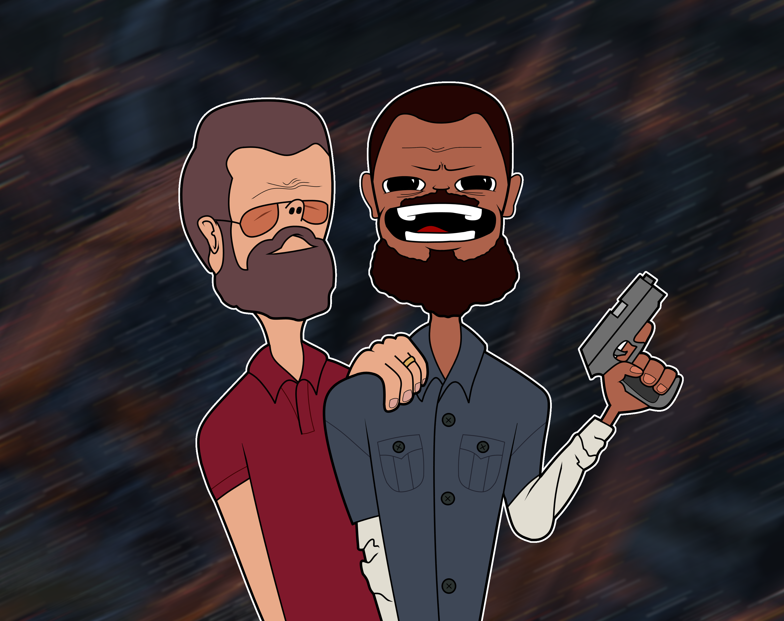 Gta 5 Michael and Franklin by Lellc on Newgrounds