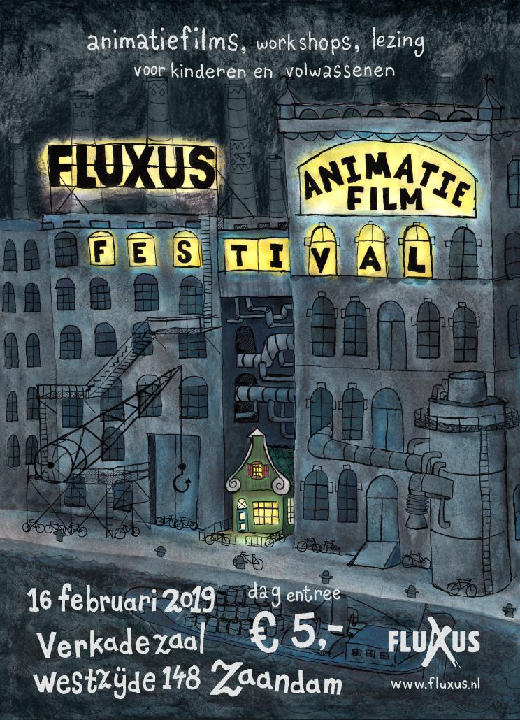 FluXus Animation Film Festival poster