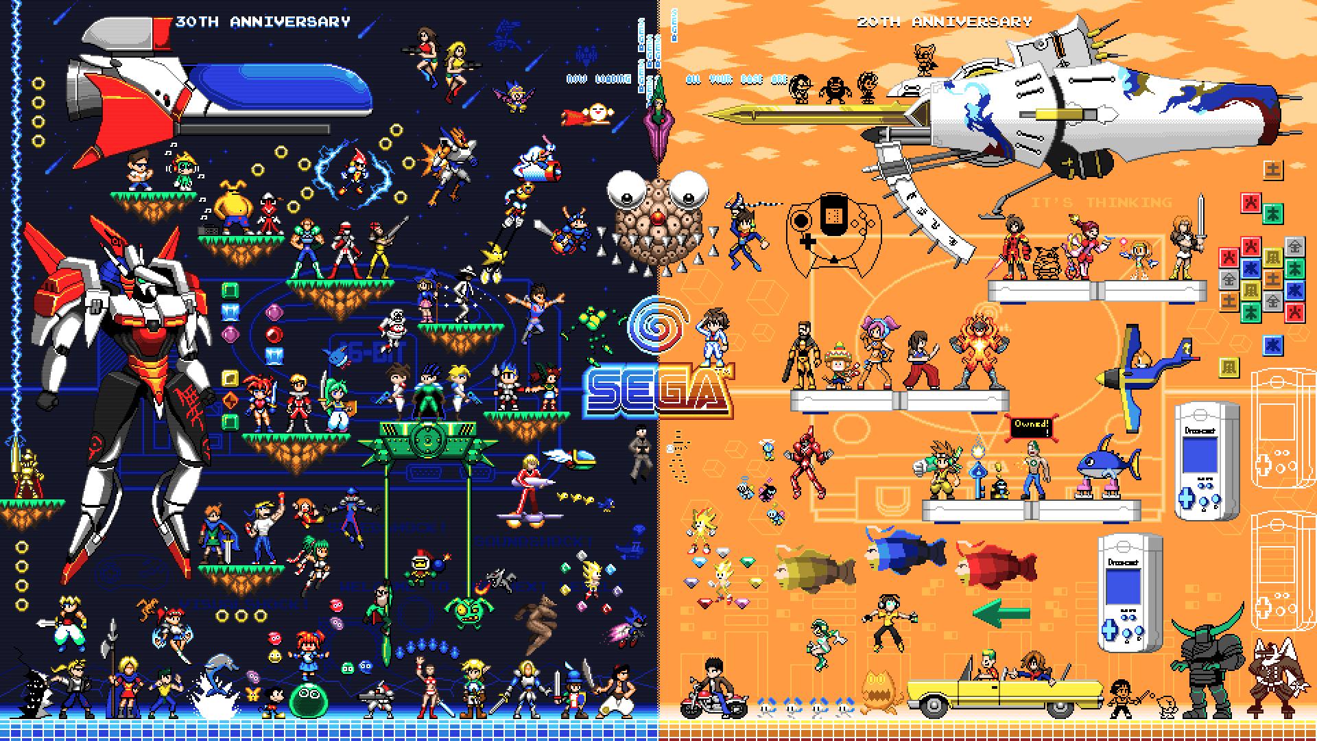 Sega Mega Drive and Dreamcast