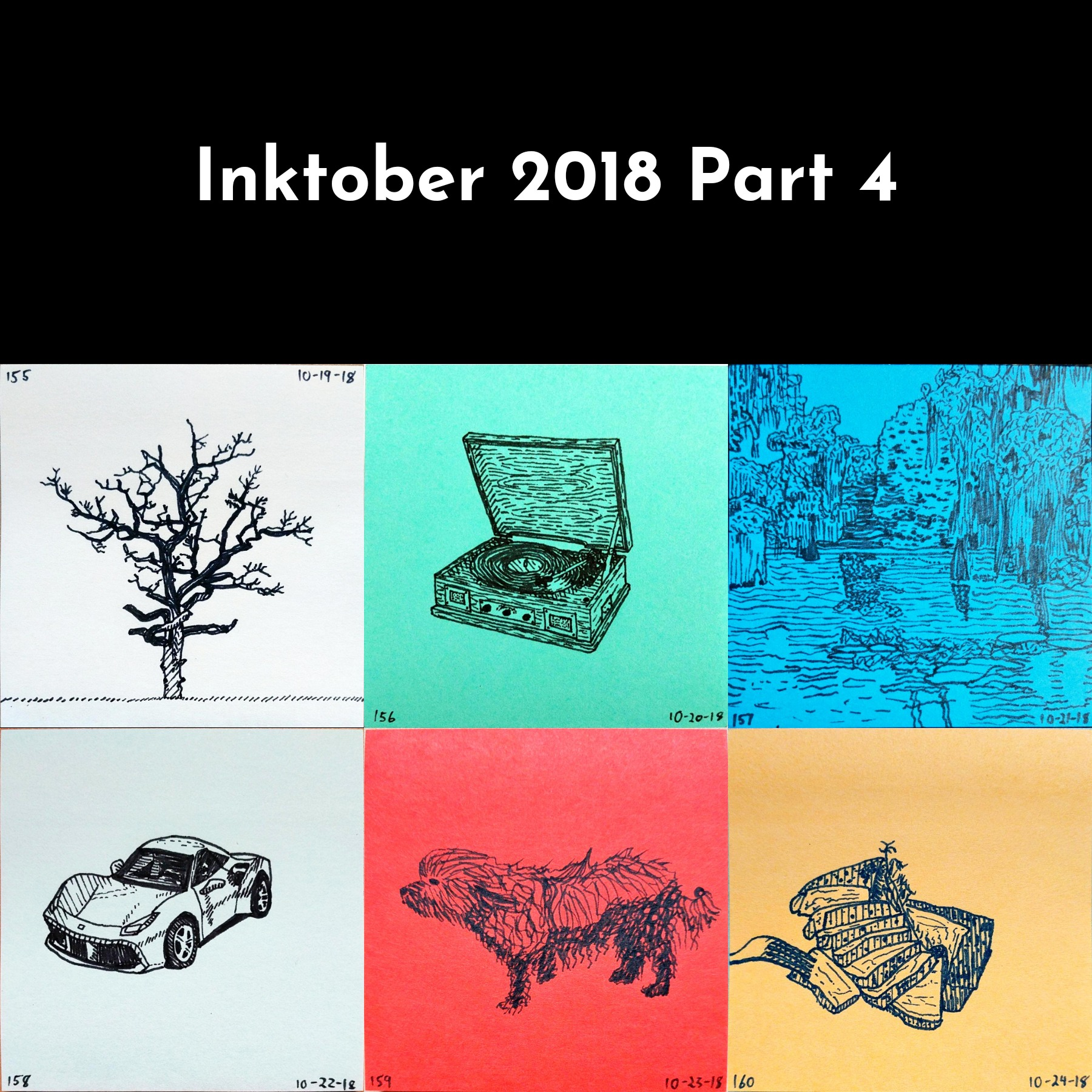 Inktober 2018 Part 4
