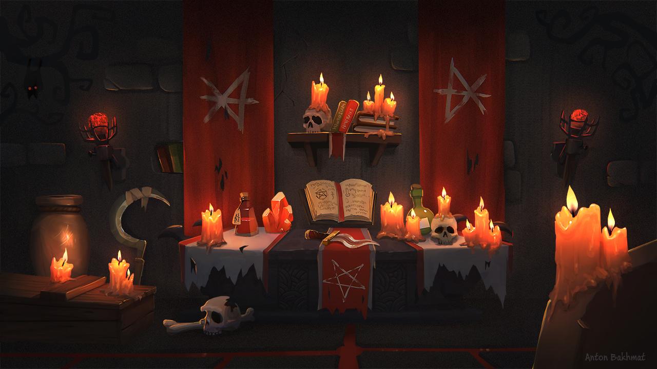 Necromancer altar