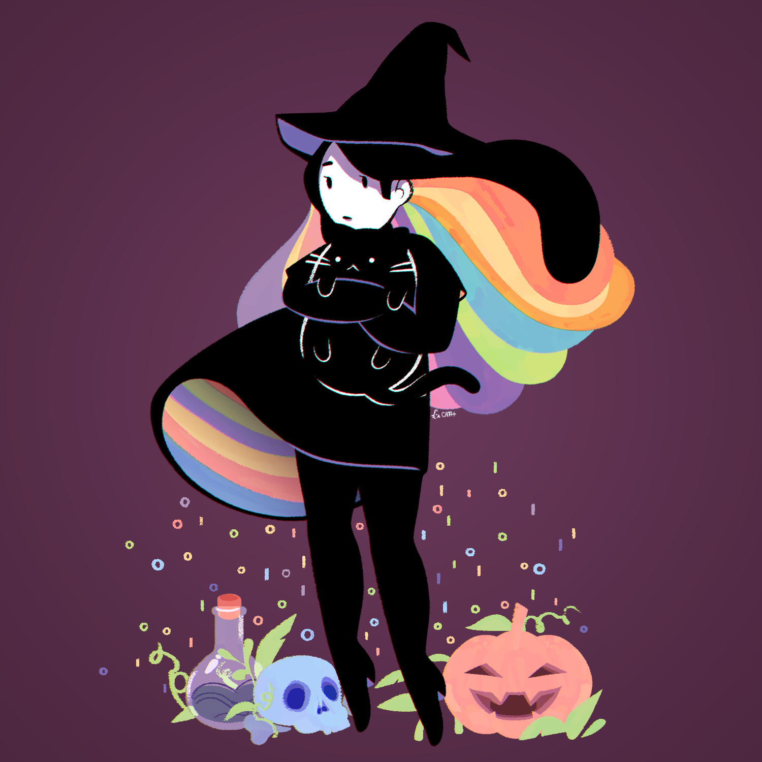 Colorful Witch