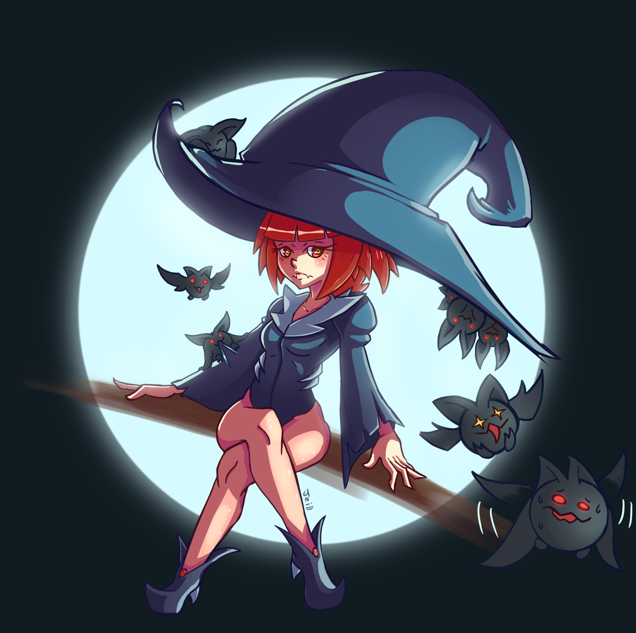 Vampire Witch By Jeib On Newgrounds