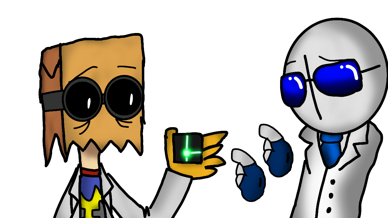 villainous Dr Flug And Dr Frederick by Crystal-Blue on