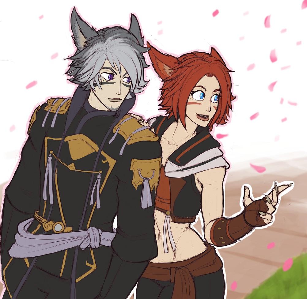 Keyto and Saphire