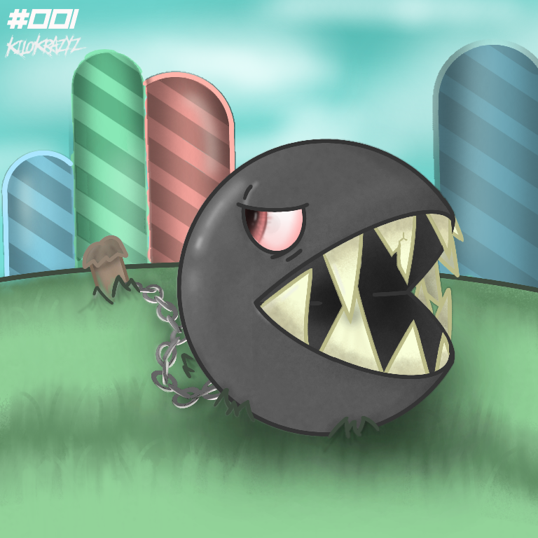 Chain Chomp.