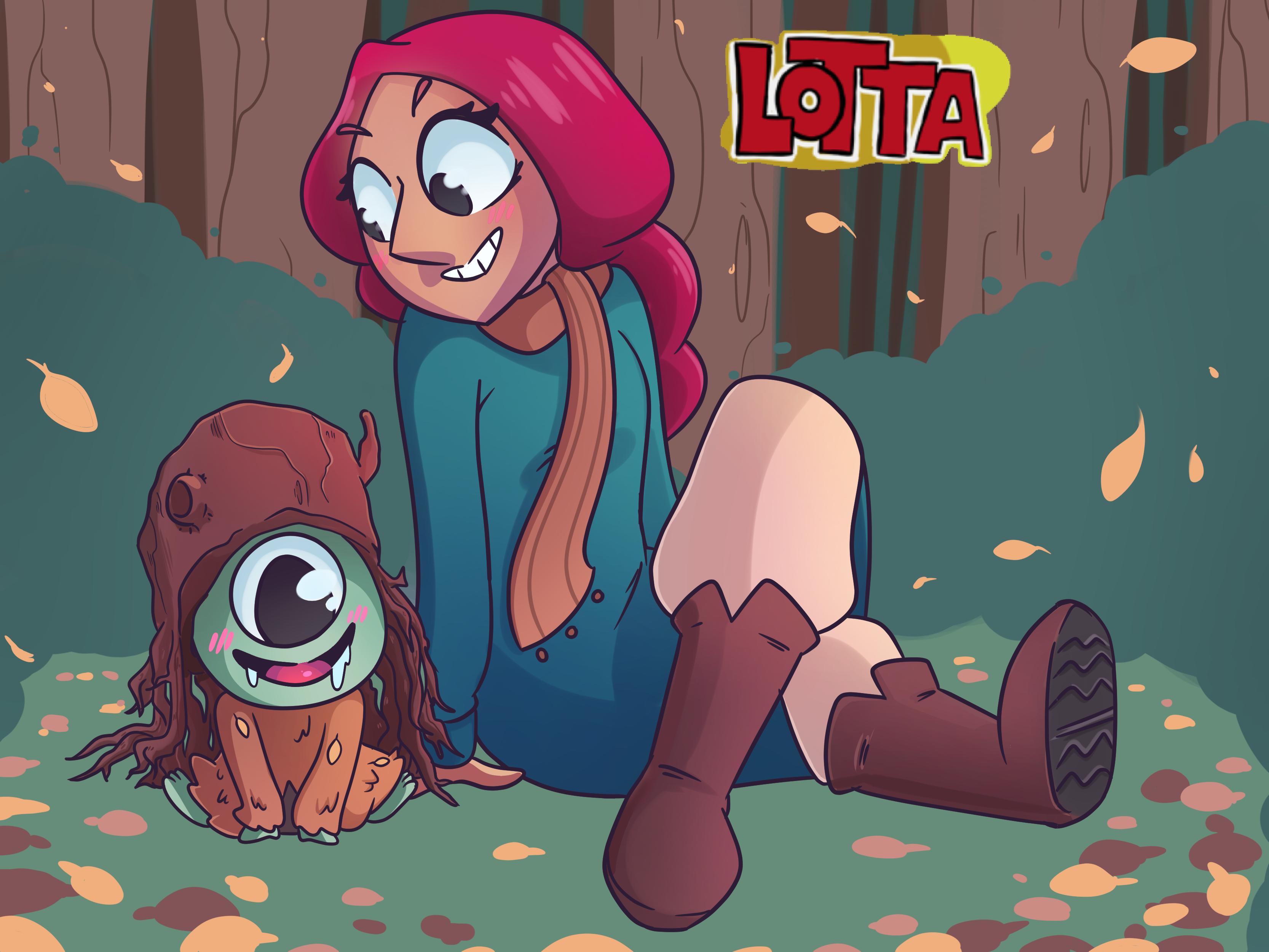 Lotta Webcomic Series Fanart