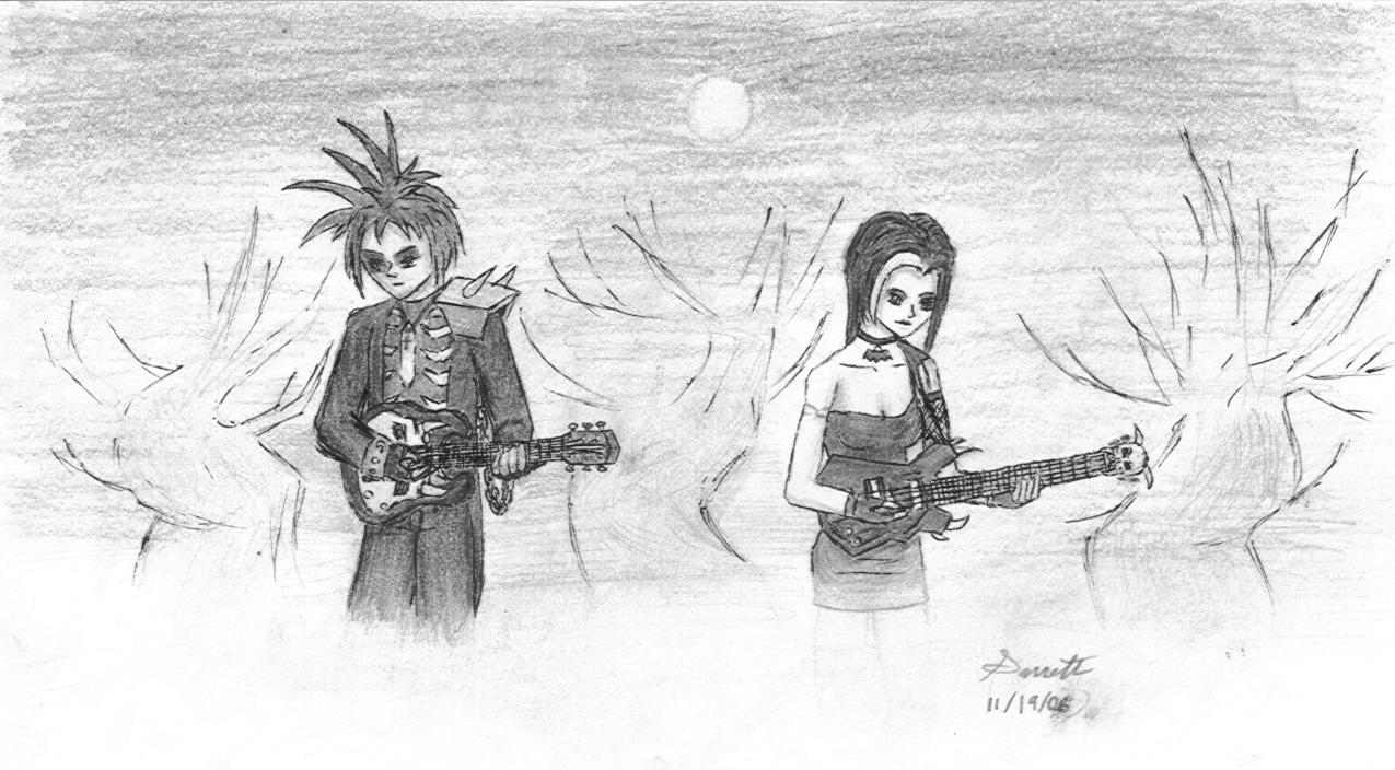 Edge and Kiyomi