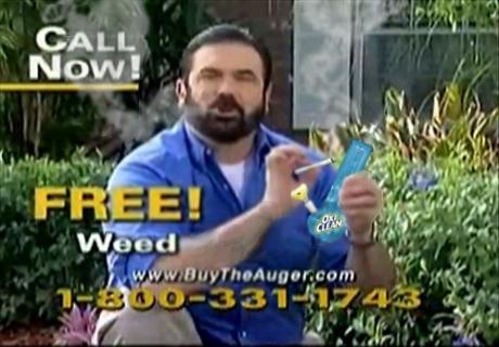 Billy Mays Free Weed