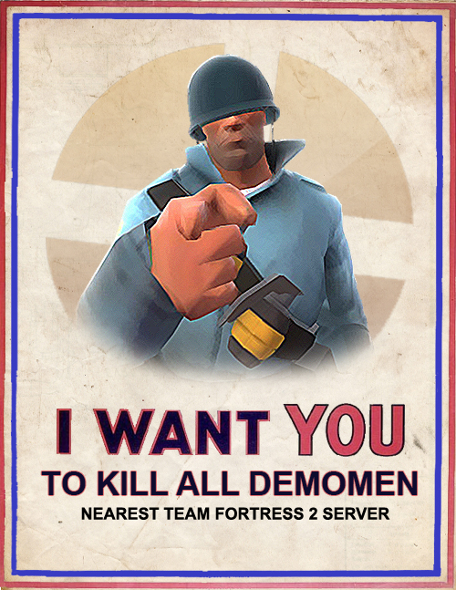 Soldier: I Want You!