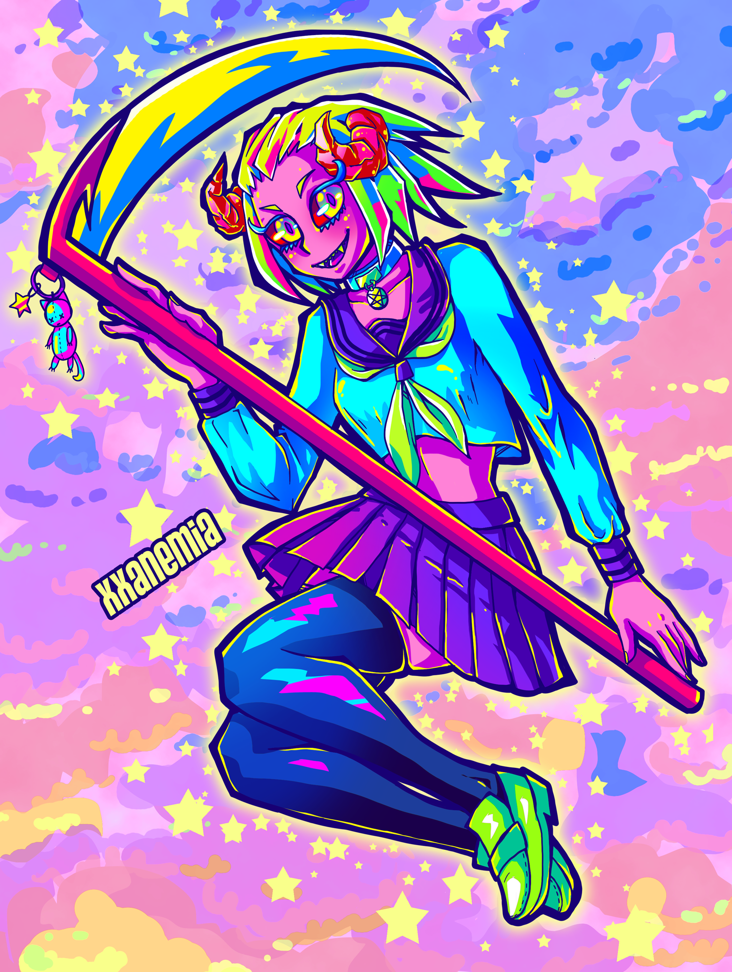 Magical Girl Demon