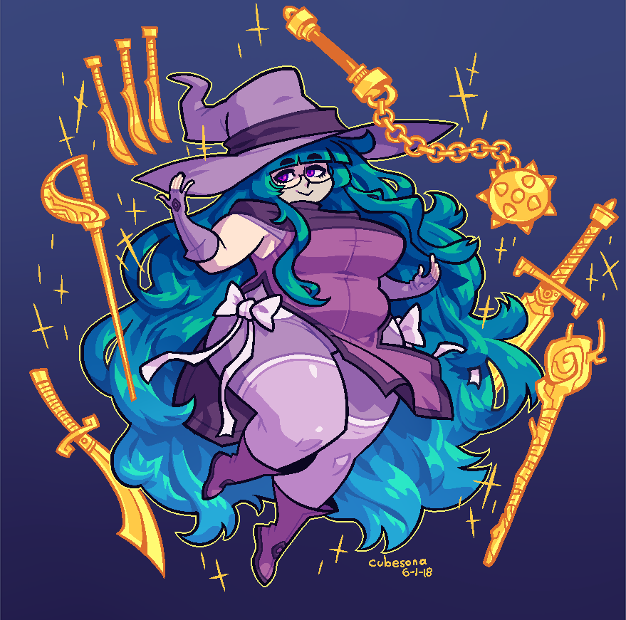 COMMISSION: Witch Girl