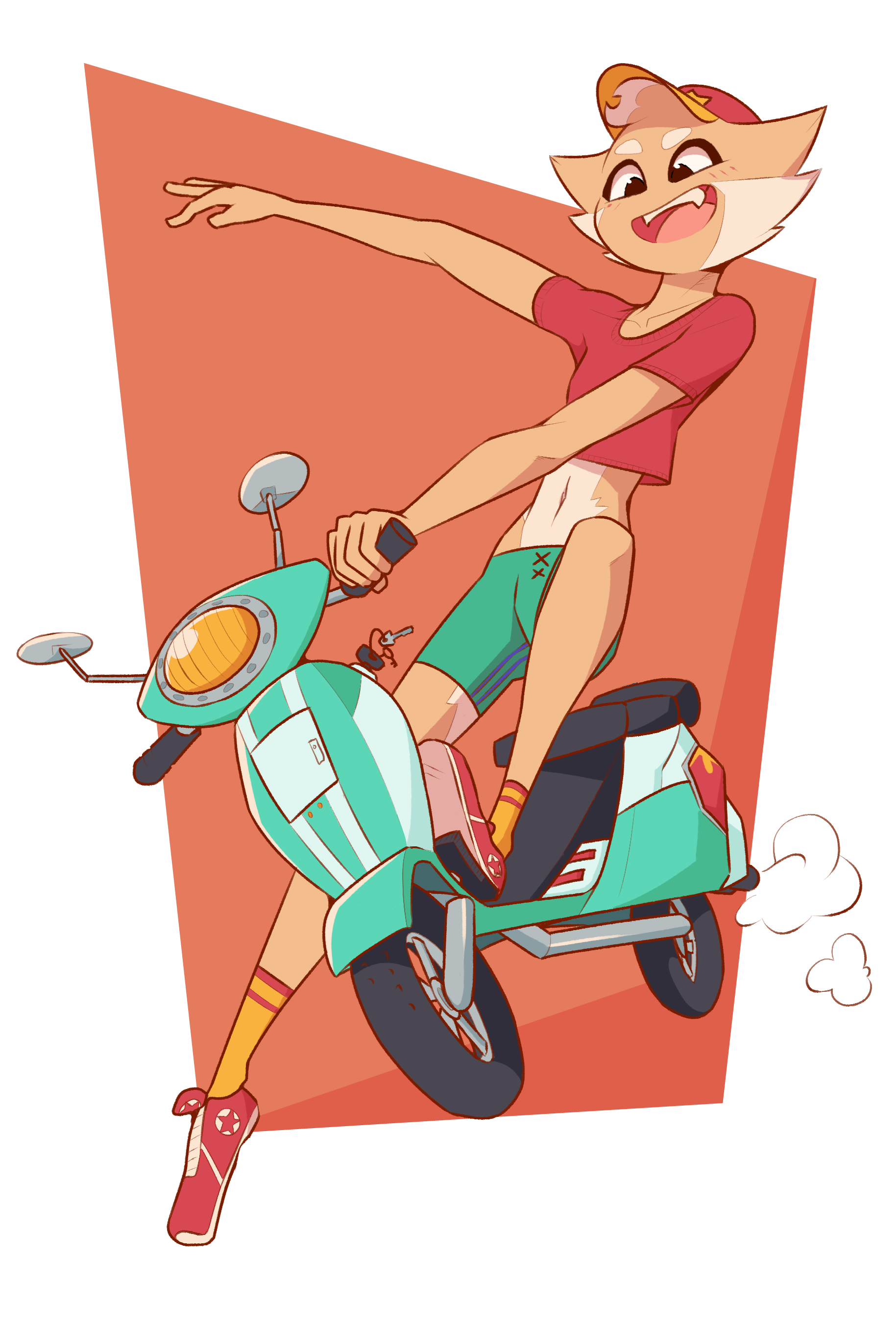 Reese Moped