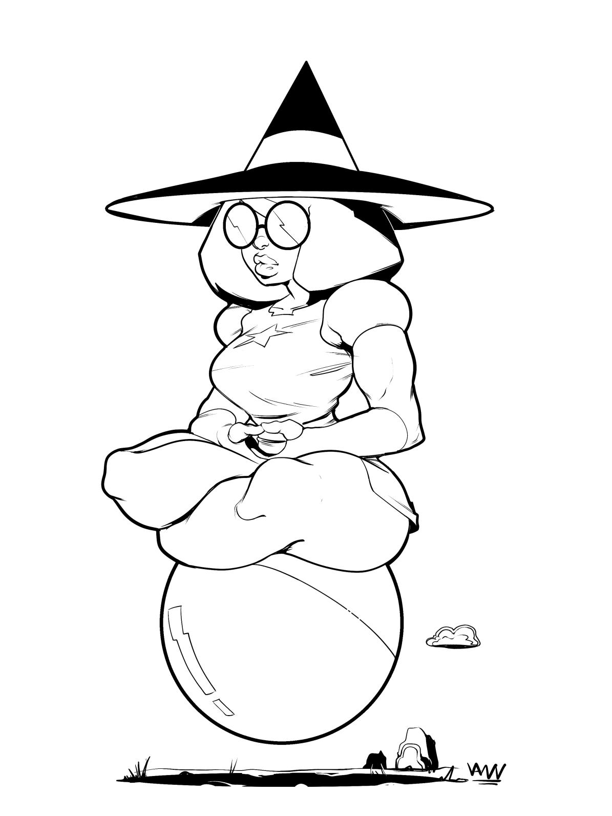 Witch Garnet