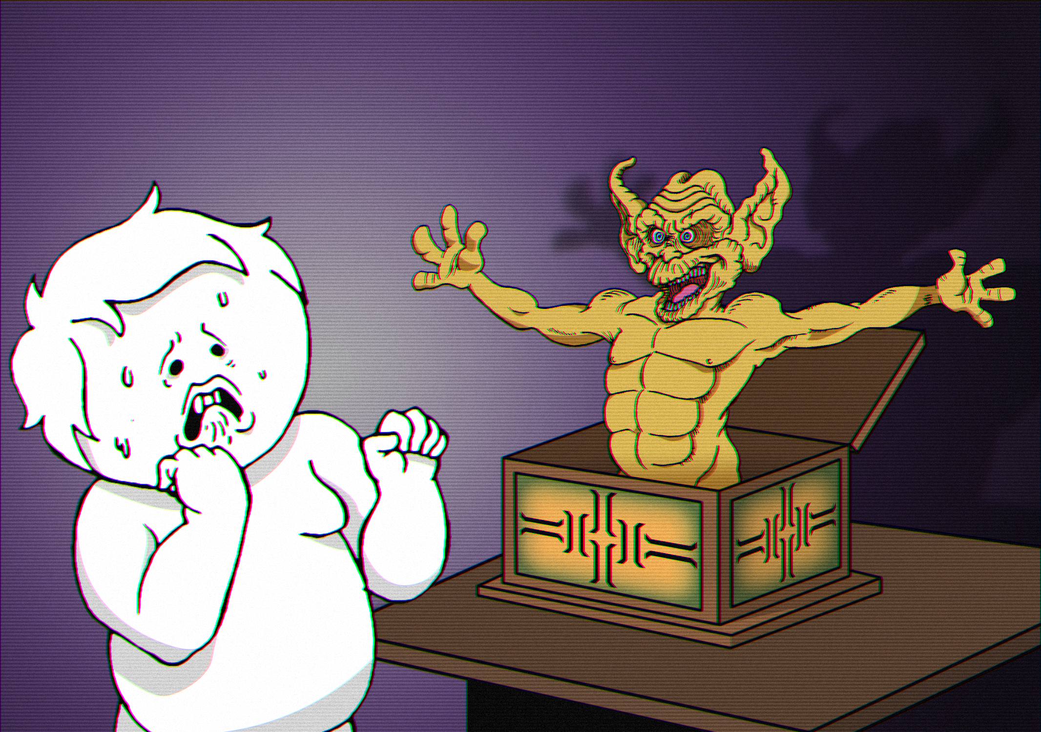 Oney, don't feed him after midnight.