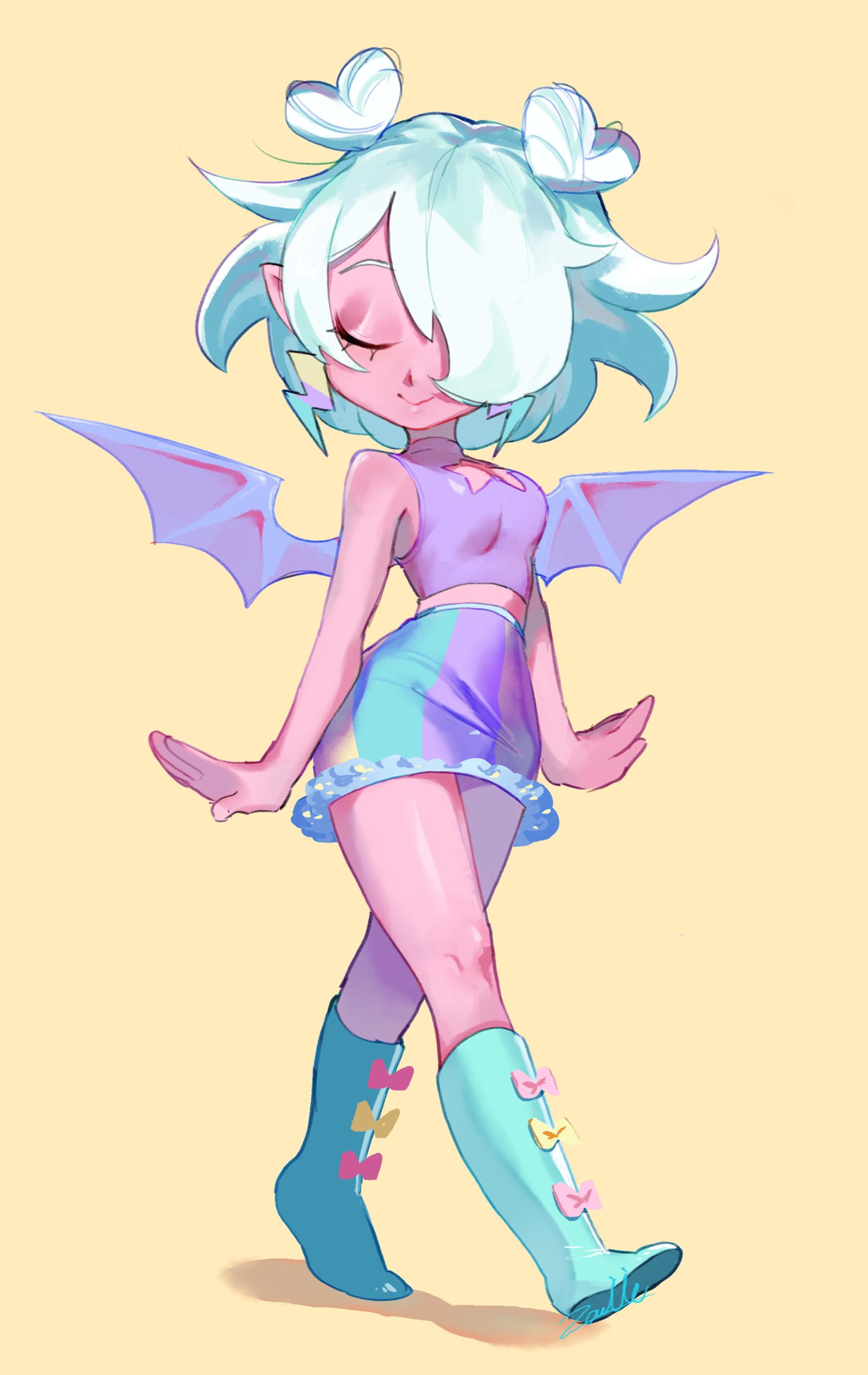 Pastel Girl 1