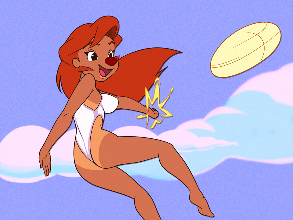 Roxanne At The Beach By Pepipopo On Newgrounds