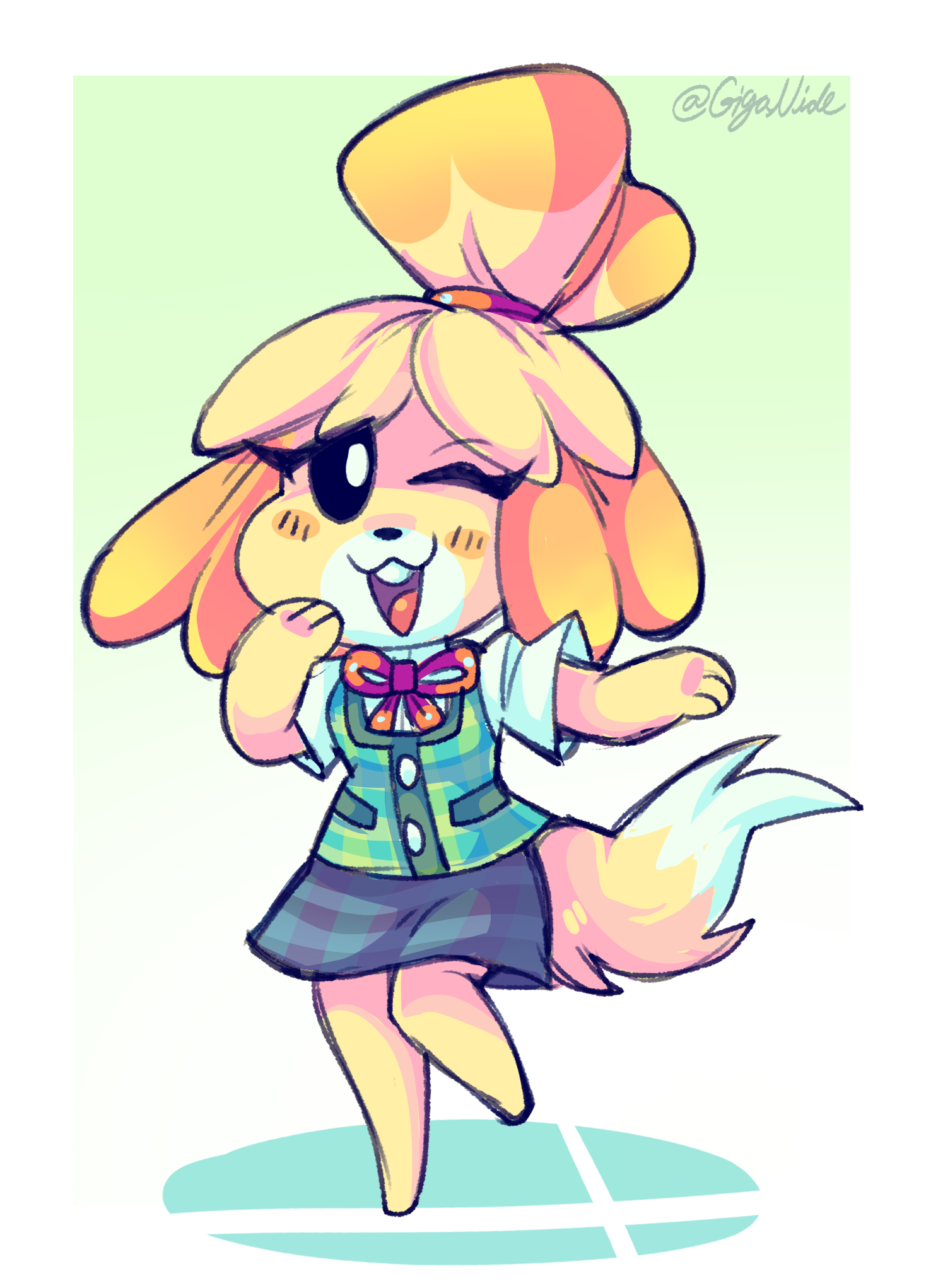 Welcome to Smash, Isabelle!