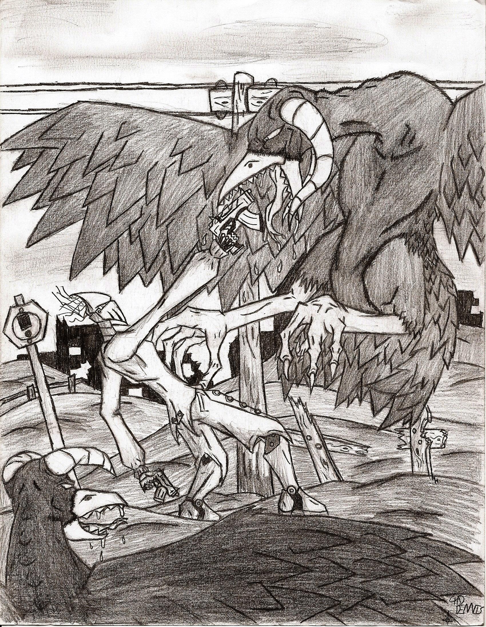 R-O-B vs the Mutant Crows